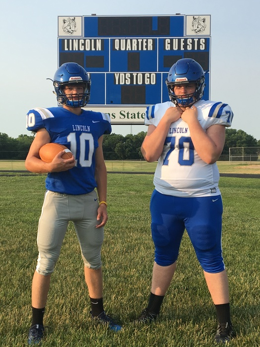 2018 Lincoln High School New Nike Football Uniforms