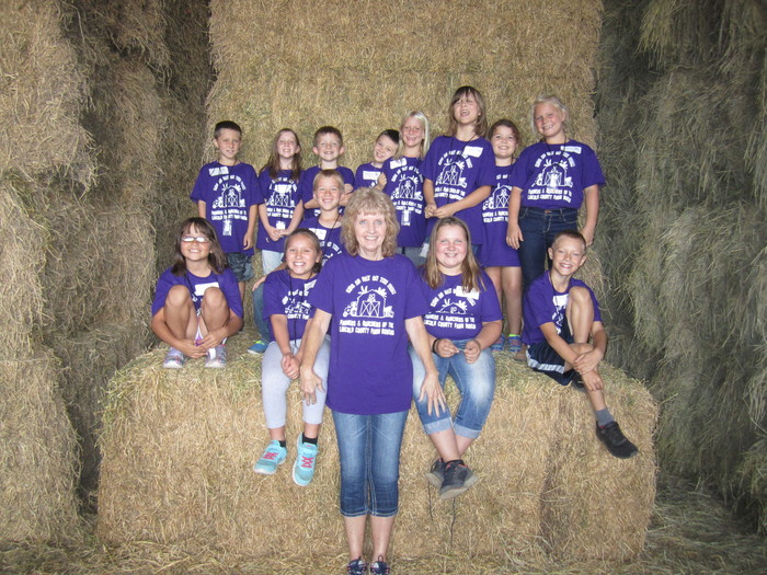 Mrs. Farris's Class at Kids Ag Day on the Farm