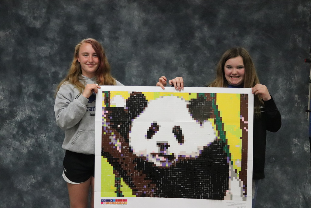 Panda - Ethney S. and Katelyn D.