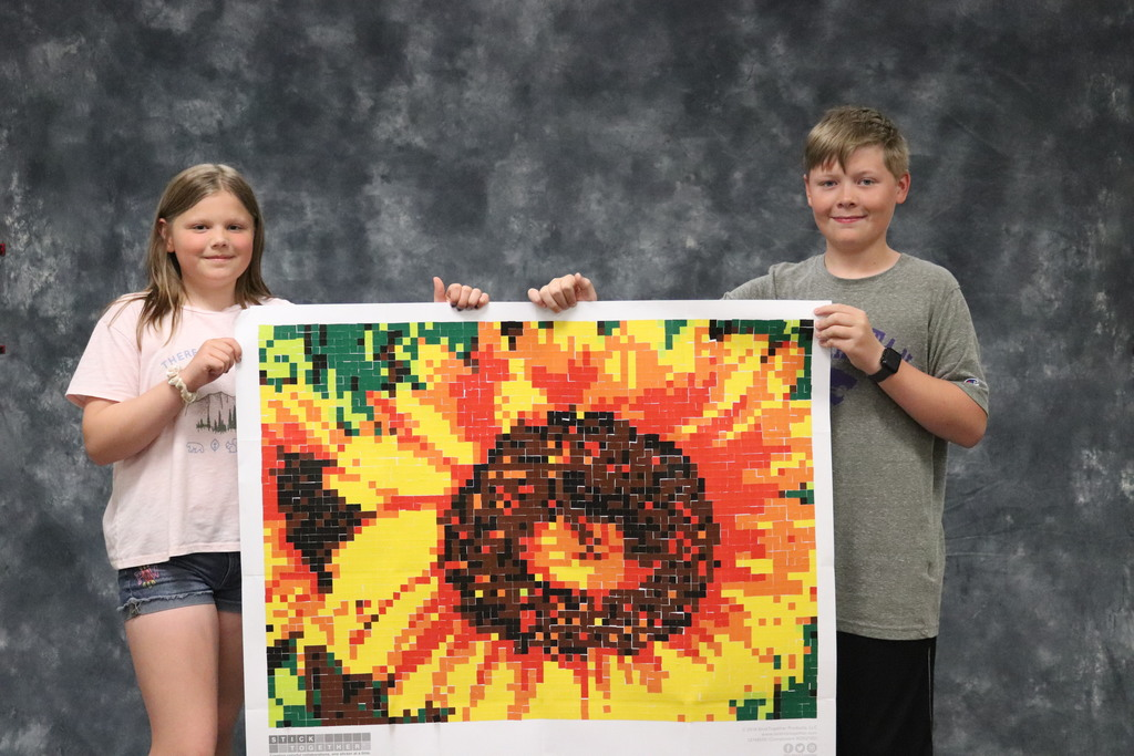 Sunflower - Dylan R.  and Gabby E.