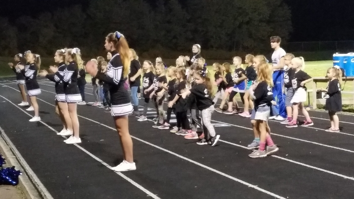Little Leopard Cheerleaders