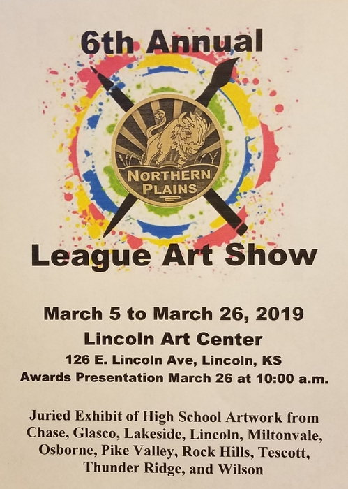 2019 league art show