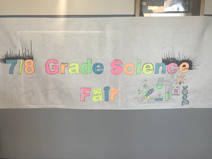 Poster for tonight's Science Fair