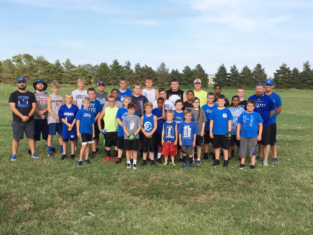 Little Leopards Football Camp