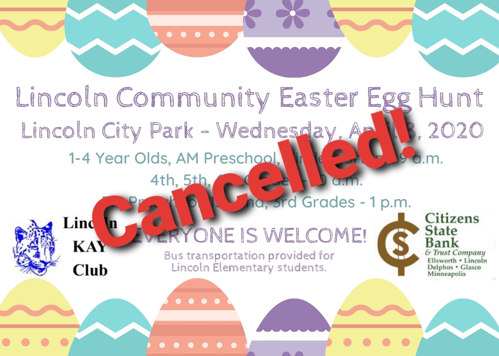 Easter Egg Hunt Cancelled