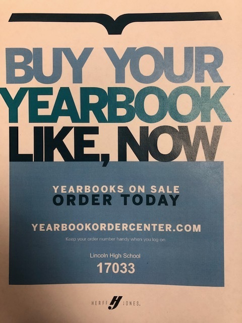 HJ Yearbook Order Center